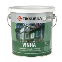 Антисептик кроющий водоразбавляемый полуматовый Tikkurila Винха / Vinha 9 л (база С)