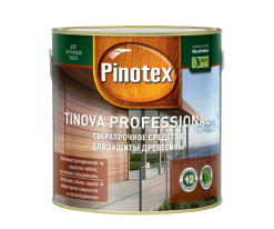 Антисептик профессиональный для деревянного фасада Pinotex Tinova 0,75 л (махагон)
