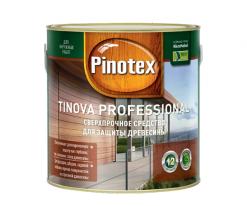 Антисептик профессиональный для деревянного фасада Pinotex Tinova 2,5 л (махагон)