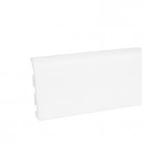 Плинтус ПВХ Korner Idea 120 белый 120х19х2500 мм
