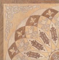 Декор Kerama Marazzi HGDA37TU0031L Монтаньоне беж 1/4 розона полупол (лапп) 42×42