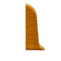 Заглушка для плинтуса ПВХ KronPlast Premium 533 Венге Перуанский левая