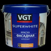 Краска бесцветная фасадная база под колеровку VGT ВДАК 1180 2,5 кг