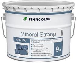 Краска фасадная белый Tikkurila Finncolor Mineral Strong 9 л (база А)