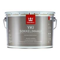 Краска щелочностойкая для цоколя Tikkurila Yki 9 л (база А)