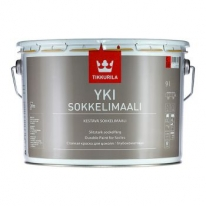 Краска щелочностойкая для цоколя Tikkurila Yki 9 л (база С)