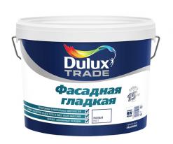 Краска фасадная гладкая на водной основе Dulux 10 л (база BW)