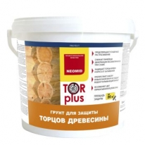 Состав для защиты торцов древесины Neomid Tor Plus 5 л