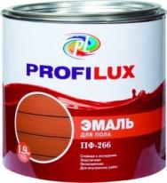 Эмаль для пола глянцевая Profilux ПФ-266 0,9 кг (красно-коричневый)