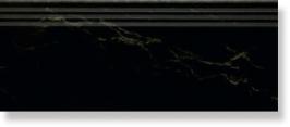 Ступень Cimic K 202 Colppa PORTORO Черный с желт развод.30x120x14+подступ 15х120×12 полир 30×120