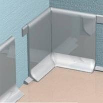 Угол для плинтуса Progress Plast RICTAC 100 внутренний