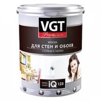 Краска стойкая к мытью для стен и потолков VGT IQ 123 2 л