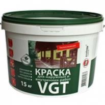 Краска моющаяся водная для наружных и внутренних работ VGT ВДАК 1180 10 кг
