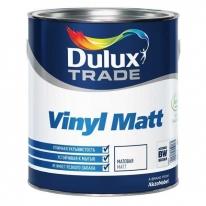 Краска для потолка и стен DULUX VINYL MATT матовая, Баз BW (5л)