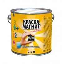 Краска магнитная для стен Magpaint Magnetpaint 5 л