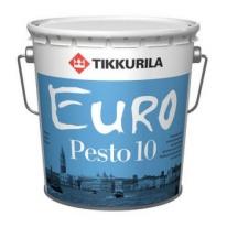 Эмаль для внутренних работ матовая бесцветный Tikkurila Finncolor Euro Pesto 10 9 л (база С)