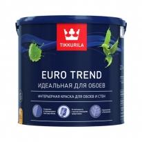 Краска для обоев и стен Tikkurila Finncolor Euro Trend 9л (база А)