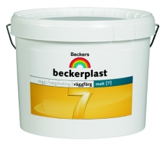 Краска бесцветная для стен и потолков BeckerPlast 7 9 л (база С)