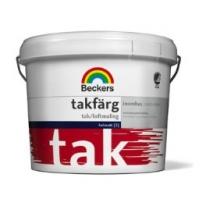 Краска латексная для стен и потолков Beckers Takfarg 3 л