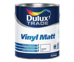 Краска для стен и потолков, матовая Dulux Vinyl Matt 5 л (база BW)