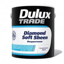 Краска для стен и потолков, полуматовая Dulux Diamond soft sheen 2,5 л бархатистая