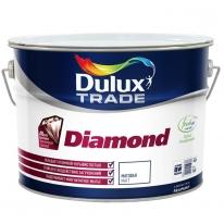 Краска для стен и потолков, матовая Dulux Diamond Matt 10 л (база BW)