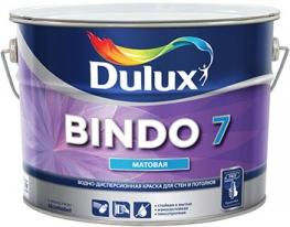 Краска для стен и потолков матовая Dulux Bindo 7 9 л (база BC)