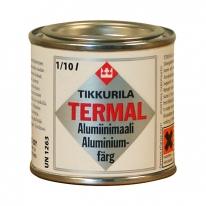 Краска термостойкая для металлических поверхностей Tikkurila Термаль / Termal, 0,33 л