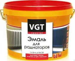 Эмаль супербелая акриловая для радиаторов термостойкая VGT ВДАК 1179 2,5 кг