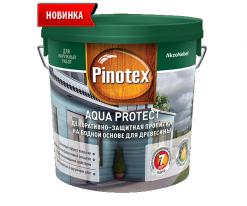 Пропитка на водной основе для внутренних и наружных работ Pinotex Aqua Protect 9 л