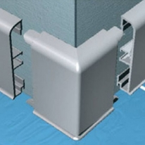 Угол для плинтуса PKGC 80 Progress Plast PKAGE 80 наружный