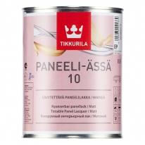 Лак матовый для стен акриловый Tikkurila Paneeli Assa 10 0,9 л