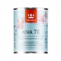 Лак глянцевый для мебели Tikkurila Kiva 70 2,7 л