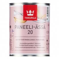 Лак полуматовый для стен акриловый Tikkurila Paneeli Assa 20, 9 л