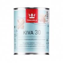 Лак полуматовый для мебели Tikkurila Kiva 30, 0,9 л