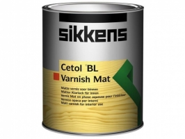 Лак матовый водорастворимый для внутренних работ Sikkens Cetol BL Varnish Mat 1 л