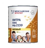 Лак для стен и потолков матовый Ярославские Краски НЦ-2139 1,7 кг