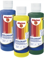 Колорант для водных красок Alpina Kolorant 0,5 л (каштановый)