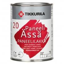 Лак акриловый водоразбавляемый для стен Tikkurila Панели ясся / Paneeli Assa 20