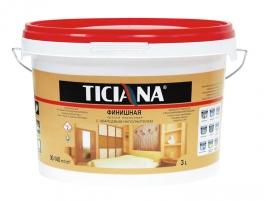 Краска масляная TICIANA МА-15, 0,9 кг (желтая)