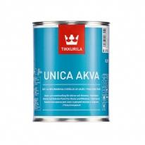 Краска акрилатная, полуглянцевая для окон и дверей Tikkurila Unica Akva 2,7 л (база А)