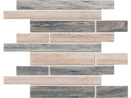 Декор Estima BRIGANTINA Mosaico Muretto BG00/BG03 неполир. матовый 30×35