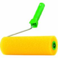 Валик «СТРУКТУРНЫЙ» поролоновый с ручкой, «гладкий», 180 мм СибрТех