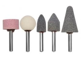 Точильные камни для дрели, 5 шт. Matrix