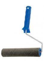 Валик «ВЕЛЮР» с ручкой, 100 мм, ворс 2 мм, D — 36 мм СибрТех