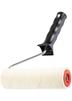 Валик «Велюр», пластмассовая ручка, 180 мм, ворс 4 мм, D 40 мм, шерсть Matrix