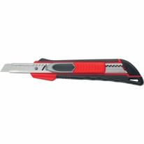 Нож, 9 мм выдвиж. лезвие «QUIK BLADE» мет. направл., двойная фикс., эргоном. двухком.рук. Matrix