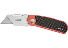 Нож, 18 мм, складной, сменное трапециевидное лезвие, + 10 лезвий Matrix Master