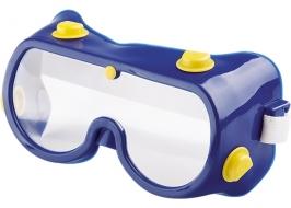 Очки защитные закрытого типа с непрямой вентиляцией, поликарбонат СибрТех