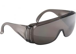 Очки защитные открытого типа, затемненные, ударопрочный поликарбонат СибрТех